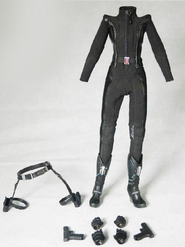 SO TOYS SO-T01 1/6 Scale Clothes Set For Black Widow Action Figure