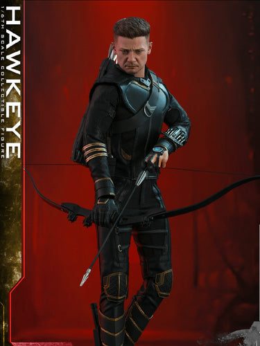 Pre-order 1/6 Scale HOTTOYS MMS532 End Game Hawkeye Action Figure - Deluxe Ver.