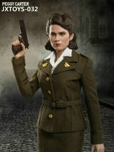 Pre-order 1/6 Scale JXTOYS 032 Peggy Carter Action Figure