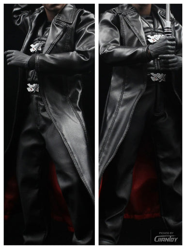 In-Stock 1/6 Scale Hot Blade Wesley Snipes BLADE II Vampire Killer Clothes set