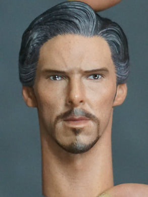 In-Stock 1/6 Scale Toy Era Male Head Doctor Strange HW/Neck
