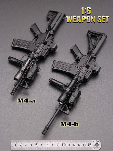 In-Stock MINITIMES 1/6 Scale Weapon Set HK416 for 12