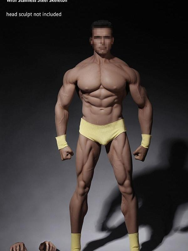 """US 1//6 Male Action Figure Durable Flexible Body Model Toy 12/"""" Male Soldier Doll"""