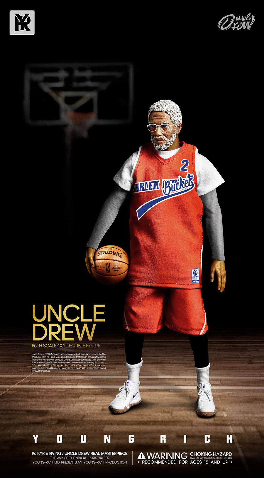 9996166daa2 ... Pre-order 1 6 Scale YOUNG RICH TOYS B001 KYRIE IRVING   UNCLE DREW ...