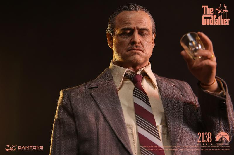 Pre-order 1/6 DAMTOYS DMS033 Vito Corleone (Golden Years version) Action Figure
