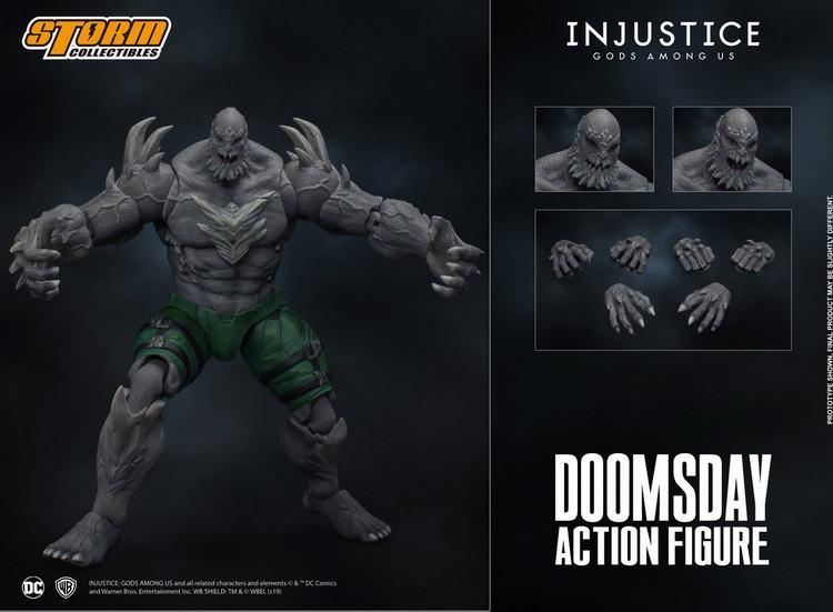 Pre-order 1/12 Scale Storm toys DCIJ-004 Doomsday Action Figure