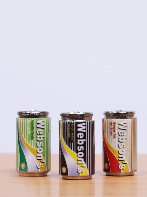 1/6 Scale Canned Soda For One-sixth Scene Accessories 3PC