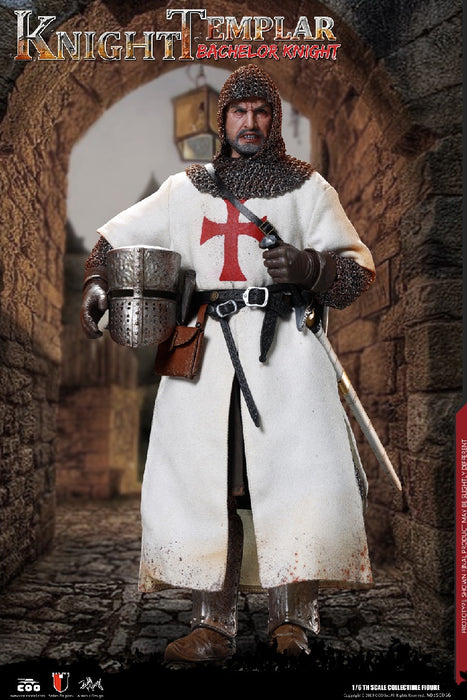 In-stock 1/6 COOMODEL DIE-CAST ALLOY - BACHELOR OF KNIGHTS TEMPLAR SE056