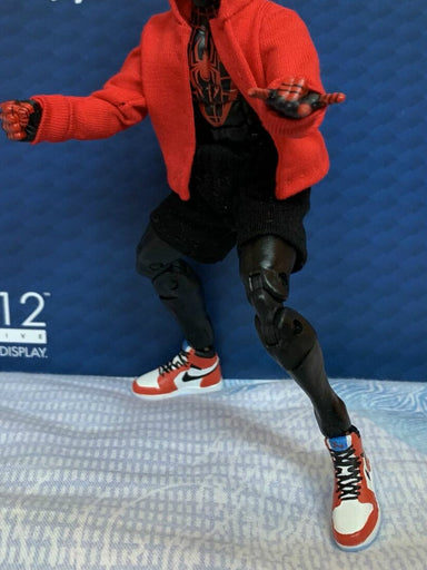 1/12 Scale Air Jordan SHOES F Spiderman Mezco Marvel Legends 6in Figure