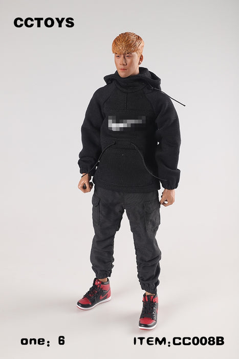 In-stock 1/6 CCTOYS CC008 Hoodie Fashion Sports Top For 12'' Figure