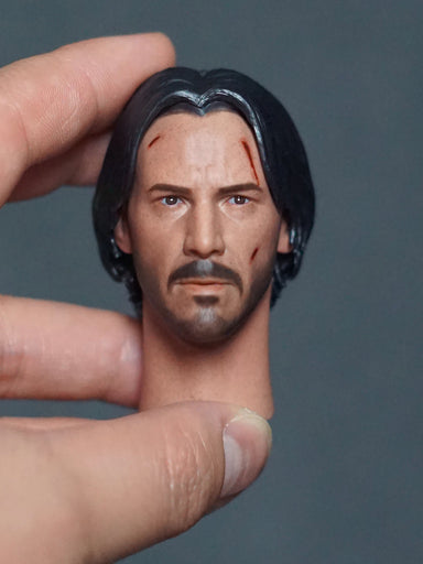 In-stock 1/6 NRTOYS NR21 John Wick 2.0 Head Sculpt HW/Neck