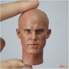 In-Stock First Rate 1/6 Scale Head Sculpt for Deadpool Wade Wilson with damaged face
