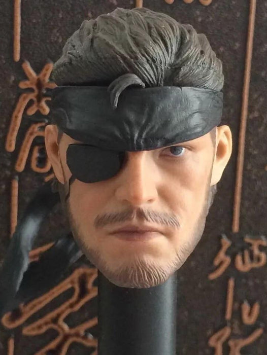 Custom 1/6 Scale Naked Snake Big Boss Head Sculpt For Metal Gear Solid V: The Phantom Pain