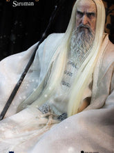 Asmus Toys The Lord Of The Rings Hobbit Saruman The White Christopher Lee HOBBIT003 Misb 1/6