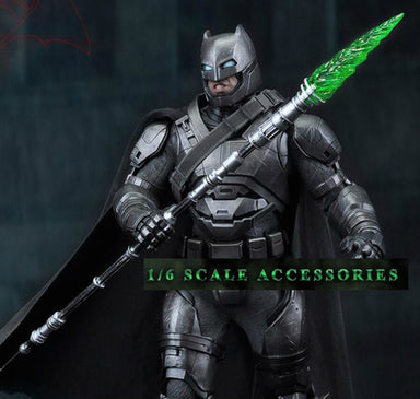 In-Stock 1/6 Scale Weapon Kryptonite Spear Kight-Up LED