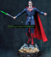 In-Stock 1/6 scale weapon Kryptonite Spear light-up LED for 12'' figure The Dark Knight VS Superman