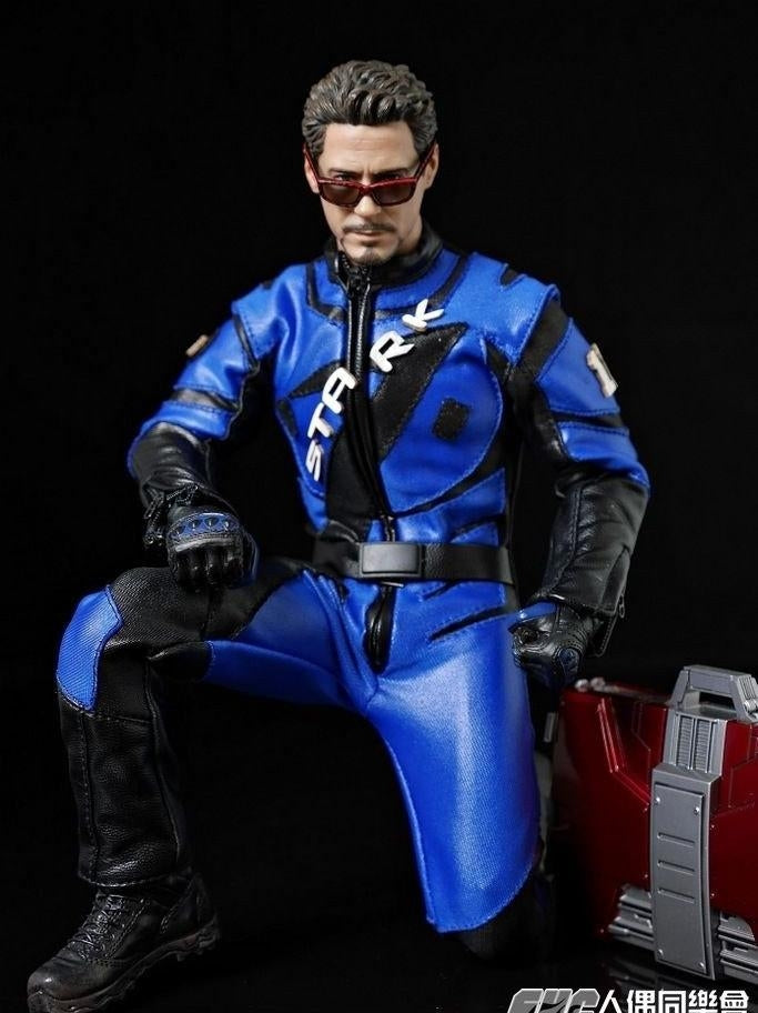 1/6 Racing Suit Costume Clothes Set for one-sixth action figure for