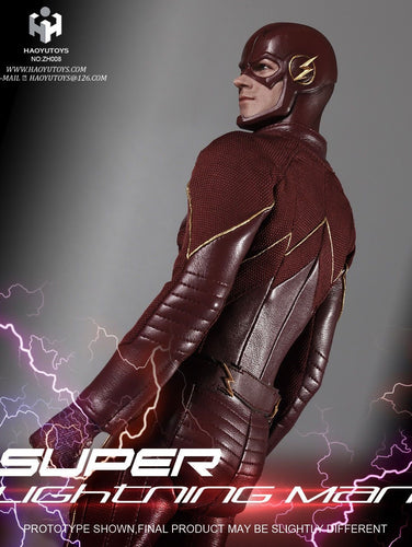 HAOYUTOYS 1/6 scale action figure for Lightning Man The Flash