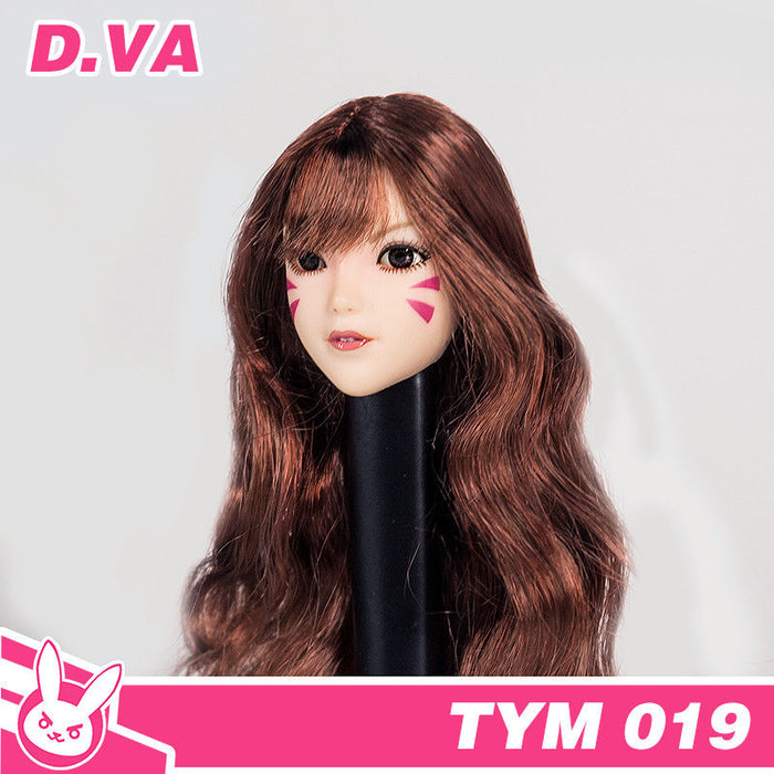 In-stock  TYM 019 1/6 scale Internet Addiction Girl Pioneer head scuplt