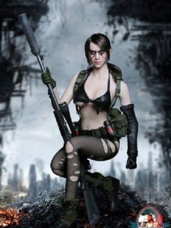 Mr Toys 1/6 Scale Fighting Makeup Sexy Sniper Figure MT-2016-03B Quiet Metal Gear Solid