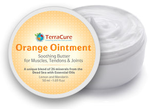 TerraCure Orange Ointment Container