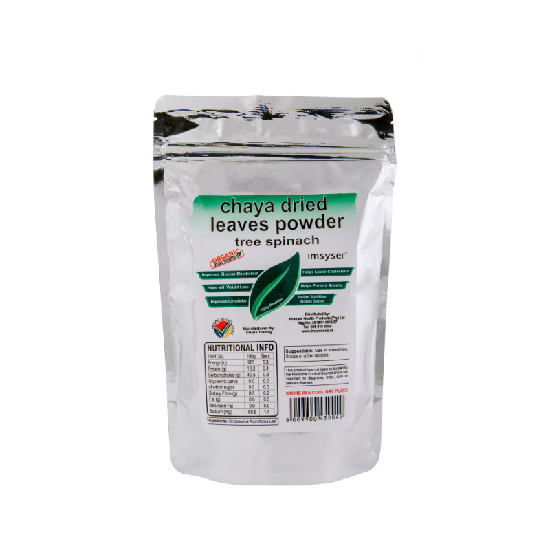 IMSYSER Dried Chaya Leaves Powder