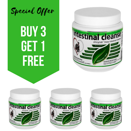 Special Offer: IMSYSER Deep Intestinal Cleanse Powder (BUY 3 GET 1 FREE)