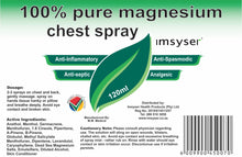IMSYSER 100% Pure Magnesium Chest Spray 120ml