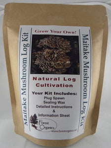 Maitake Mushroom Log Growing Log Kit