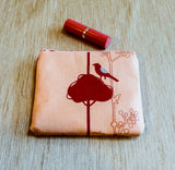 Red Bird Coin Purse