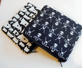 Black Halloween Pouches