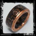 About Our Ben Franklin Bank Note Collectible Copper Coin Ring