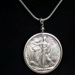 cc_Walking Liberty Coin Necklace