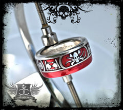 Memento Mori Silver Coin Ring - Men's Skull Ring - NEW!