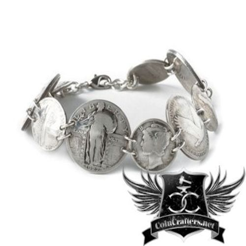 cc_Coin Bracelet - Handcrafted Coin Jewelry