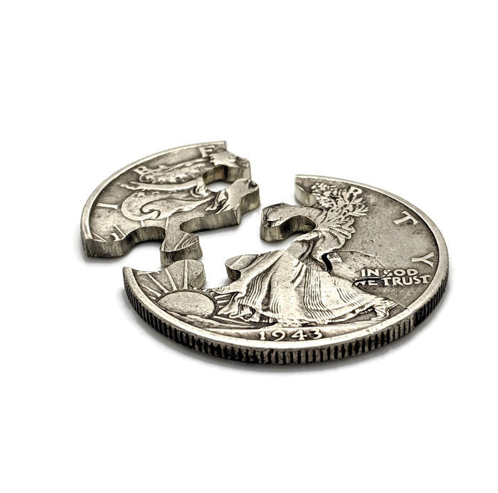 Walking Liberty Half Dollar 3-Piece Puzzle