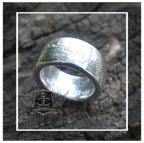 cc_American Silver Eagle Coin Ring