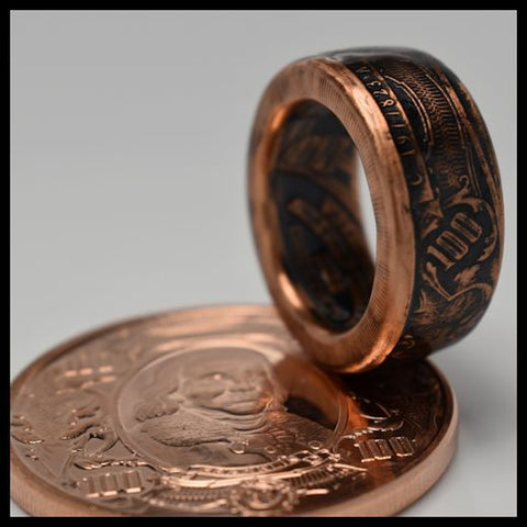 cc_Copper Coin Ring - The Bank Note