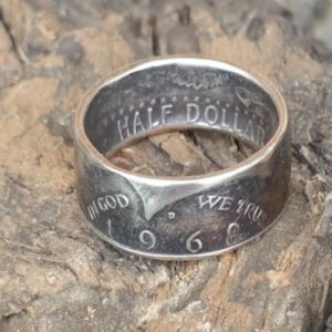 Kennedy Coin Ring - Half Dollar Rings