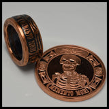 cc_Copper Coin Ring - The Last Laugh - Memento Mori - Mens Ring - Mens Gift