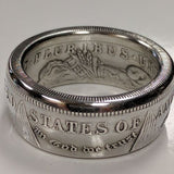cc_Morgan Silver Dollar Coin Ring - The Original!