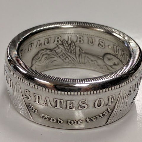 cc_Morgan Silver Dollar Coin Rings