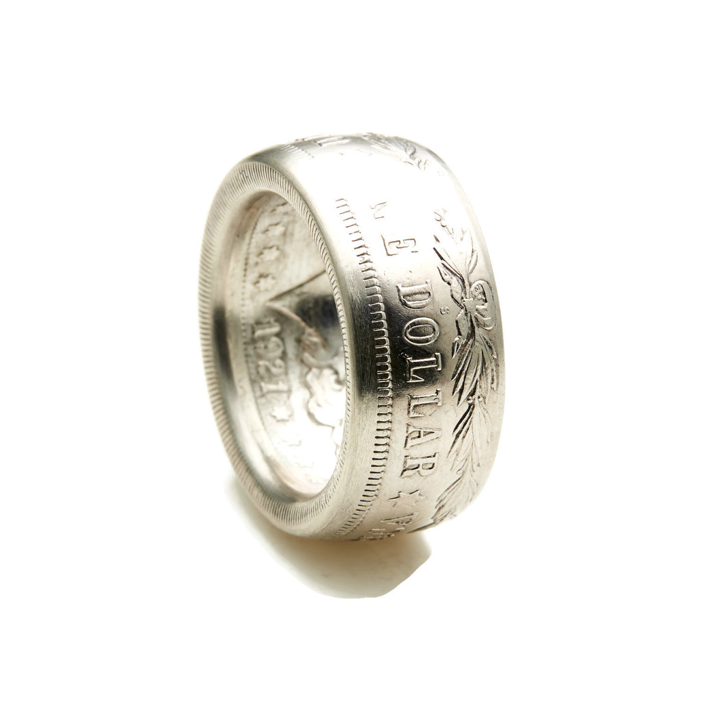 Morgan Silver Dollar Coin Ring - The Original!
