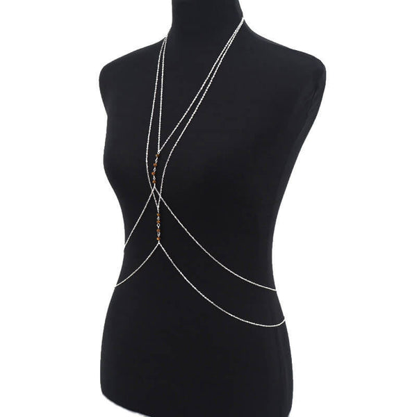 Pico da Cruz Body Chain - Silver