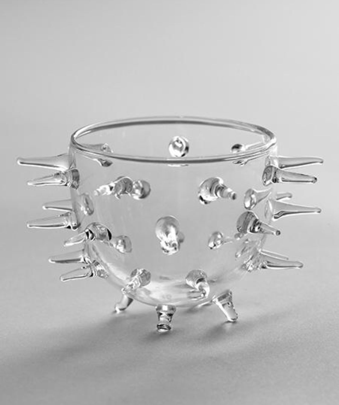 Urchin Glass Bowl, Medium