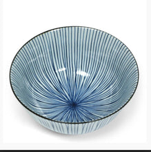 Crossed Lines Bowl