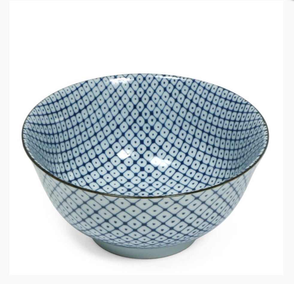 Diamond Dot Bowl
