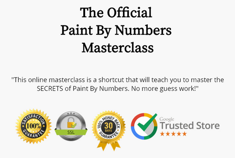 The Official Paint by Numbers Masterclass