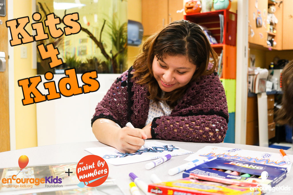 Encourage Kids and My Paint by Numbers Kits4Kids