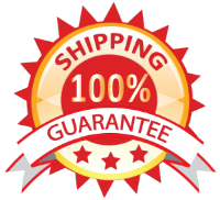 100% shipping guarantee